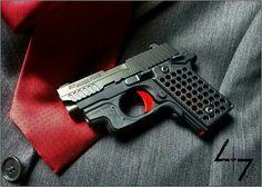 Suit and tie pistol