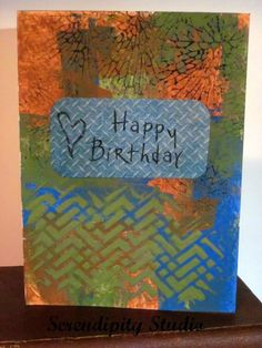 Happy Birthday Card for my Son