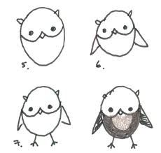 how to draw an owl (and other animals to draw)