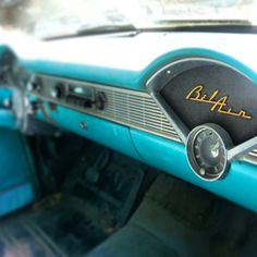 Chevy Bel Air ~ classic, vintage, beauty! Like stepping back in time! <3