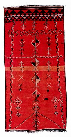 Africa | Moroccan Berber Rug | ca. 1920 - 1930 | Wool