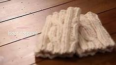 Free Knitted Boot Topper Patterns - Bing Videos