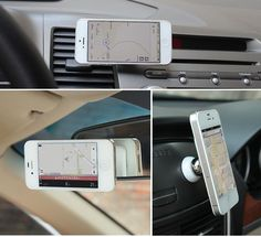 FREE SHIPPING Material: Stainless steel, Magnetic Car Holder: Yes Compatible with Iphone 6, iPhone Plus, iPhone 5s, iPhone 4, Samsung Note 4, Samsung S6, Samsung Edge S5, Jiayu, HTC, GPS This magnetic