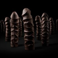 8 Inches of Dark Chocolate Cock Filled With... by United Indecent Pleasures