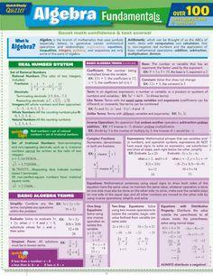 Algebra Fundamentals Quizzer