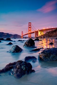 Golden Gate Bridge, San Francisco - See 8 more photos of California here: http://www.ytravelblog.com/travel-pinspiration-california/