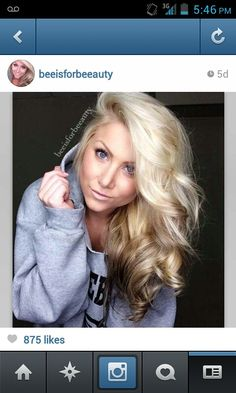 Hair envy! Reverse blonde ombre. Credit:taylor bee/beeisforbeeauty