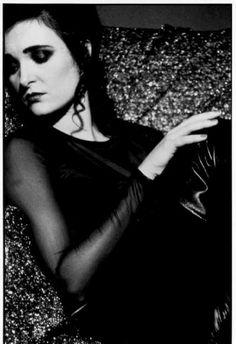 Siouxsie Sioux. The Banshees out of the frame.
