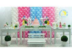 Decoração infantil provençal princesas  * Decoração de festa infantil