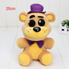 14cm / 25cmFredy Bear - very cute plush toys with many sizes FNAF five nights at freddy's plush toys - Brand new - Mearsurement:approx 25CM in Highth - Qty: 1 PC - Made of high-grade soft plush. All n