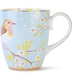PIP STUDIO - Large blue early bird mug | Selfridges.com