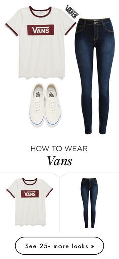 """""""Vans"""" by alexis-maher on Polyvore featuring Vans"""