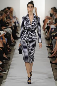 #Oscar de la Renta RTW Spring 2014 Runway Fashion Week