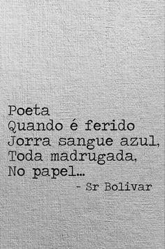 As melhores canções, as melhores poesias são escritas em momentos de dor...