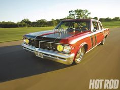 Raybestos 1964 Pontiac GTO PPG Fast Red Paint