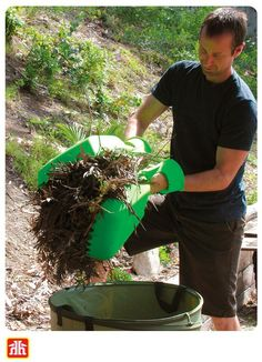 Make quick work of yard clean-up! Bonus - your kids may even think this is a fun activity to help with! Yard Waste, Gardening Tools, Dry Hands, Home Hardware, Fun Activities, Porches, Plants, Kids, Garden Junk