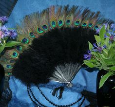 From the Soiled Doves collection at Recollections: Peacock Fan