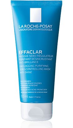 All about Effaclar Sebo-controlling mask, a product in the Effaclar range by La Roche-Posay recommended for Oily skin with imperfections. Free expert advice