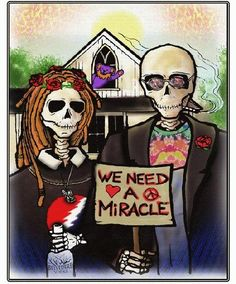 We Need A Miracle... #Dead50 #gd50 #FareTheeWell