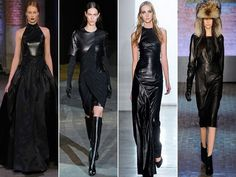 кожаные платья и сарафаны - Bing Obrázky