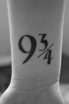 9 y tres cuartos tattoos - Buscar con Google