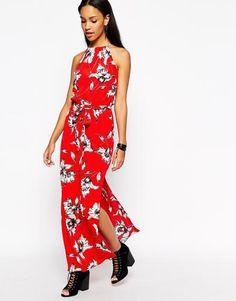 River Island Sleeveless Maxi Dress - Red #dress #women #covetme #riverisland #covet