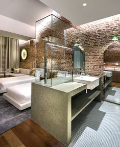 Loke Thye Kee Residences is situated in the heart of Georgetown Penang, one of 5 Malaysian UNESCO world sites rich in heritage. MOD's design draws inspiration from this heritage and specifically the historic Loke Thye. Casa Hotel, Hotel Inn, Hotel Room Design, Interior Design Magazine, Hospitality Design, Bauhaus, A Boutique, Building Design, Interior Architecture