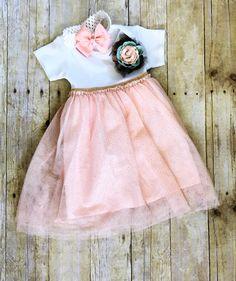 6de09e9d436 Baby Girl Outfit and Headband