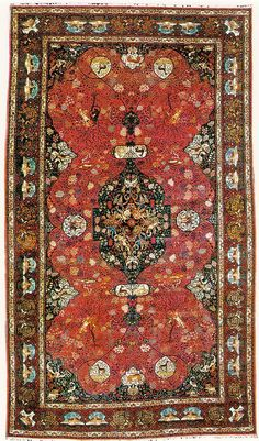 Tabriz 1890 animal design 755x454