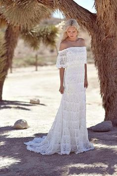 I found some amazing stuff, open it to learn more! Don't wait:https://m.dhgate.com/product/simple-full-lace-country-boho-wedding-dresses/389592745.html