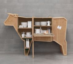 packing crate cow sideboard | Sumally
