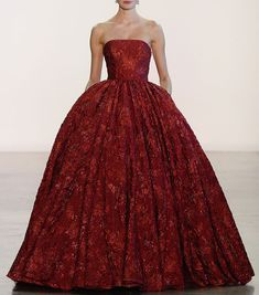 07e91bc6cc1d Badgley Mischka, Strapless Dress Formal, Beautiful Dresses, High Fashion,  Fashion Show,