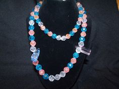 Baby shower necklace party favor  http://www.artfire.com/ext/shop/product_view/Lil_Panther_Creations/4786776/Baby_shower_necklace_party_favor/Jewelry/Necklaces/Beadwork#