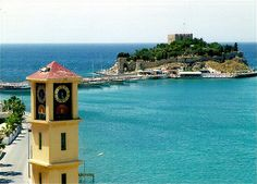 Pigeon Island in Kusadasi How to get to Pigeon Island; it is very close to the harbour and you can walk along the shoreline and is on the same route to Ladies Beach or take a dolmus minibus from the town centre that run every 5 minutes Kusadasi, Oh The Places You'll Go, Great Places, Places Ive Been, Beautiful World, Beautiful Places, Island Cruises, Best Honeymoon, Cruise Destinations