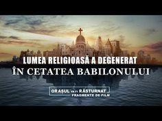 Liderii lumii religioase se îndepărtează de calea Domnului și urmează tendințele lumești; de asemenea colaborează cu puterea guvernatoare în sfidarea și condamnarea sălbatică a Fulgerului de la Răsărit, și deja au început să meargă pe calea ce se împotrivește lui Dumnezeu. #Dumnezeu  #bible_versuri  #rugăciune #Evanghelie #credinţă #Iisus_Hristos #salvare  #biserică #Împărăţia Films Chrétiens, Christian Movies, Tagalog, World Cities, Visual Effects, Taj Mahal, Itunes, Youtube, Place