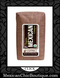 Mexican Coffee   Coffee   Cafe   Cafe Mexicano ♥ Organic Mexican Chiapas Coffee, 12-Ounce Bags (Pack of 3) , Ground, Fresh Roasted Coffee LLC. $23.95