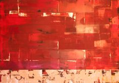 Red, painting from Michael Frahm, Acryl on canvas