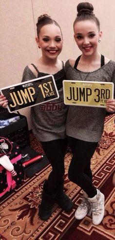 Maddie and Kendall