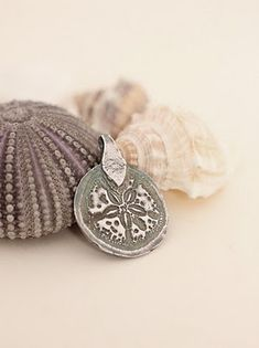 Made with precious metal clay (PMC) this medallion looks like ancient treasure doesn't it?