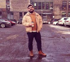 Homens gordos e estilosos (Fat men's and Style)