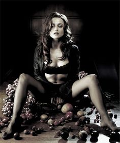 Uhhh, Hello hot-ass Bellatrix Lestrange?    Wowza @ Helena Bonham Carter