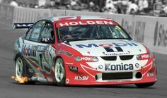 The Holden Racing Team was the team to beat from Australian V8 Supercars, Australian Muscle Cars, Aussie Muscle Cars, Holden Australia, Racing Team, Road Racing, Classic Race Cars, Holden Commodore, Tuner Cars