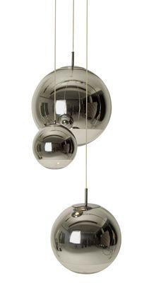 Suspension Mirror Ball Medium / Ø 40 cm Chromé - Tom Dixon