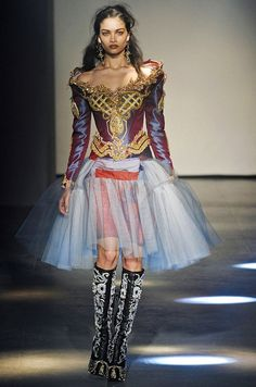 I love this look - so crazy!