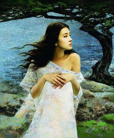 xie chuyu art | Художник из Китая Xie Chuyu при помощи ...
