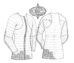 Padded doublet  c.1360-70