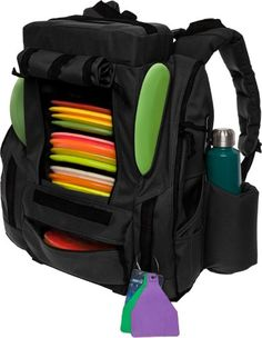 204c9f60be49 Baglane NEW Fusion Elite 25+ Disc Golf Backpack Bag w  Built-in Seat    Cooler