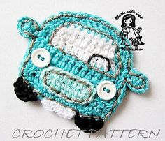 VW bus...MUST CROCHET!