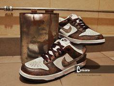 Nike dunk low oxidation custom by Briezrs