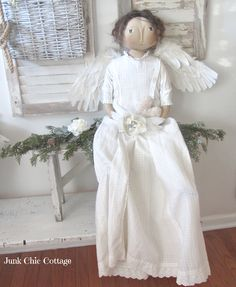 Junk Chic Cottage: White Christmas